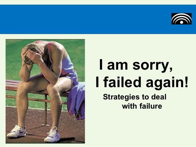 Learning How To Deal With Failure